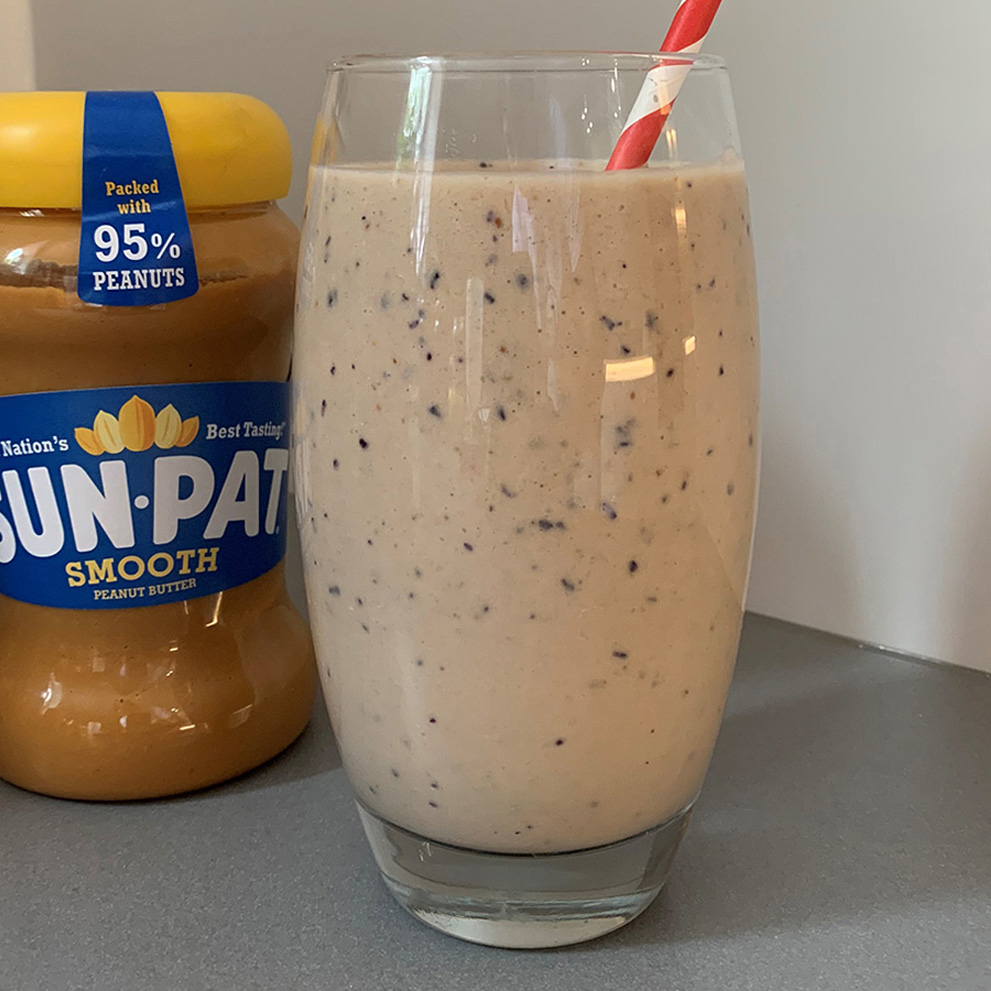 SUN-PAT, Blueberry & Banana Smoothie